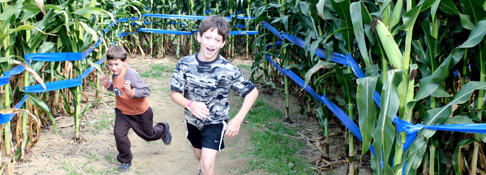 Giant Maize Quest® Corn Maze - Newton Grove, NC